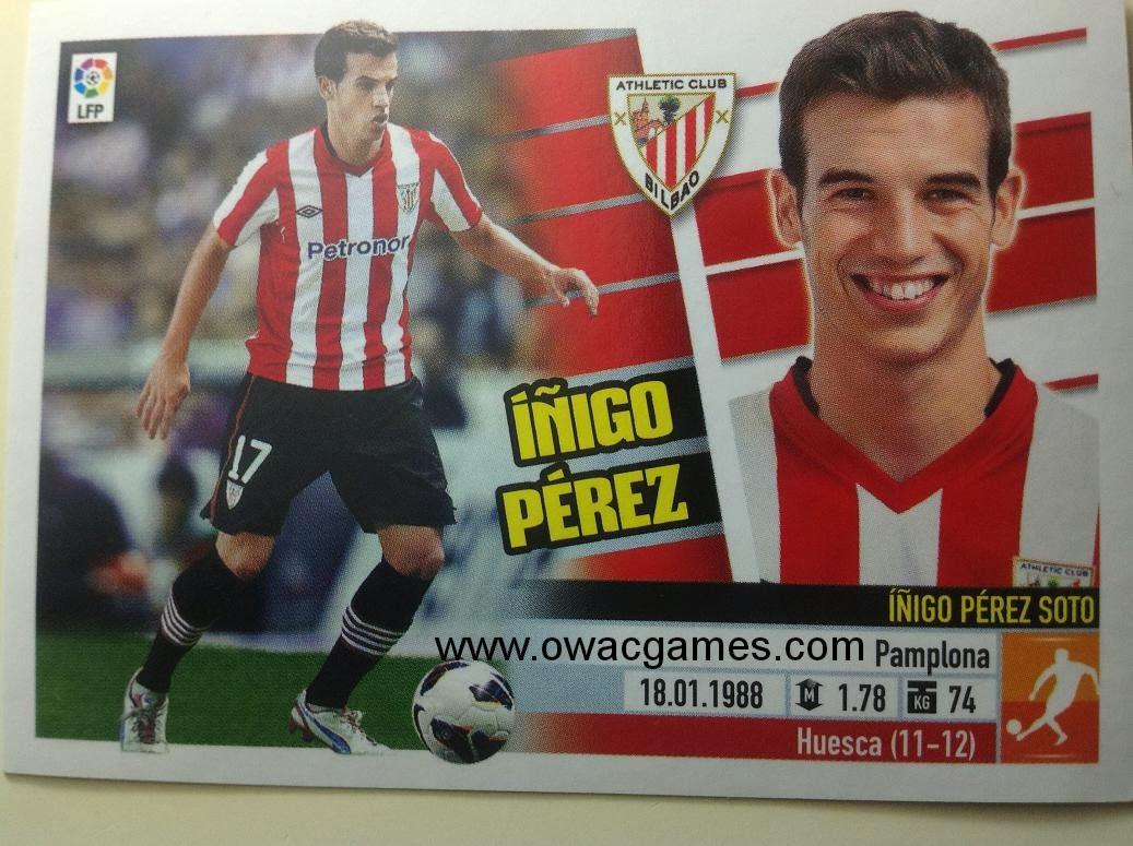 Liga ESTE 2013-14 Ath. Bilbao - 10 - Íñigo Pérez