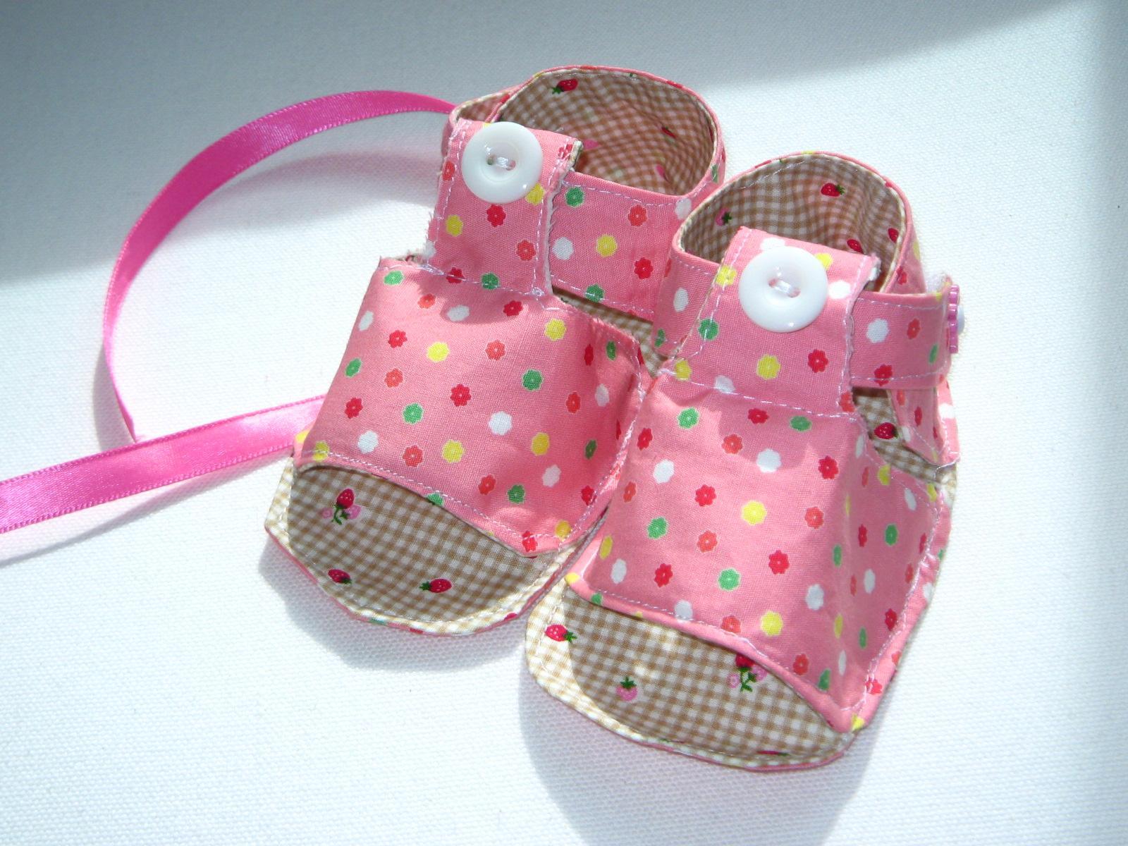 Sandalias para bebes paso a paso