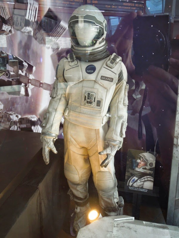 Interstellar NASA astronaut suit