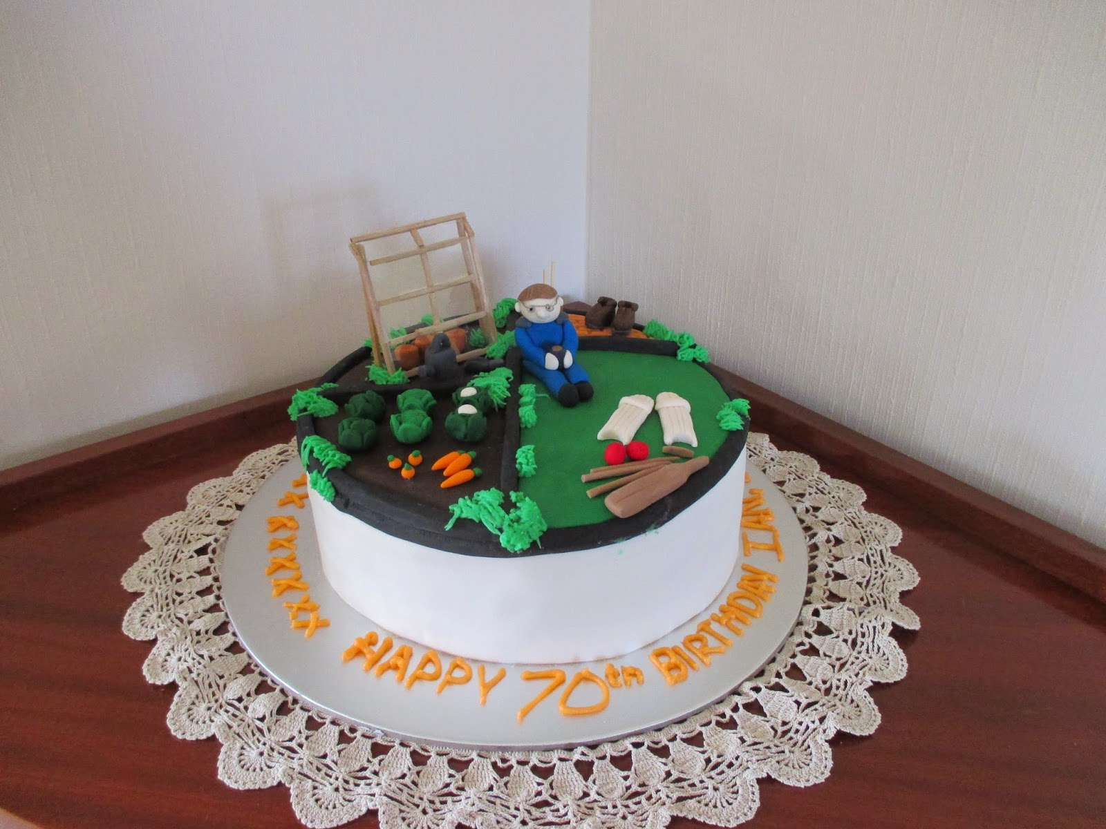 Touch Cakes Happy 70th Birthday Ian