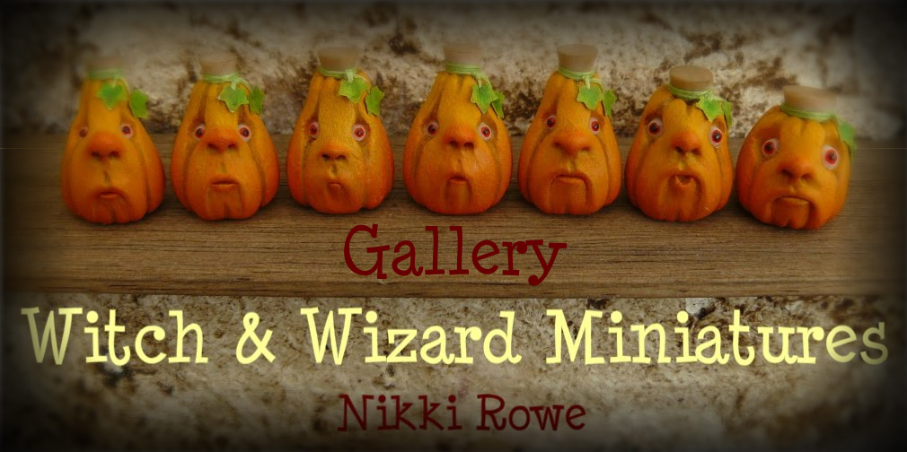 Witch And Wizard Miniatures - Nikki Rowe