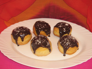 Donuts with Chocolate Coating