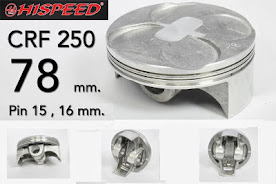 HISPEED Keluarin Piston CRF 78 mm