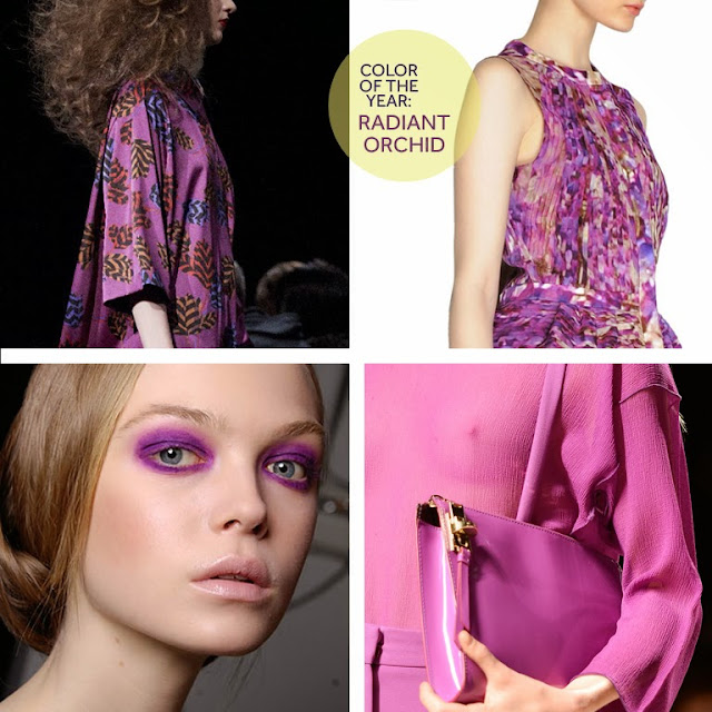 Color of the year: Pantone Radiant Orchid
