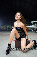 hot Foto Alexa Key di Majalah Popular World