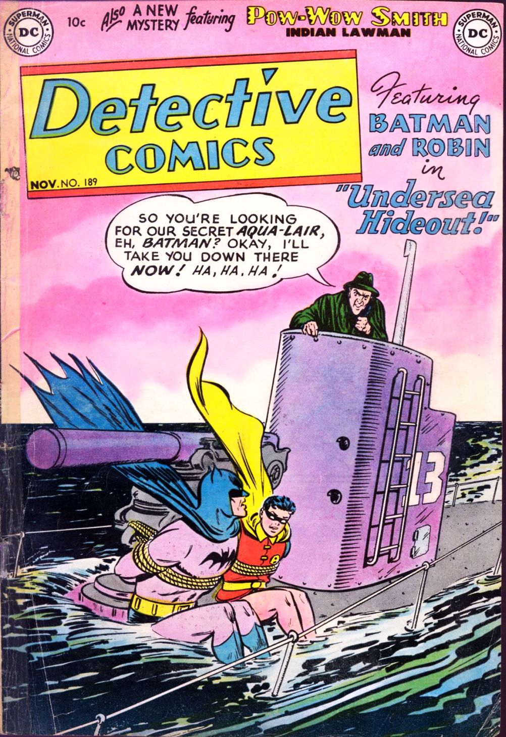 Detective Comics (1937) 189 Page 1