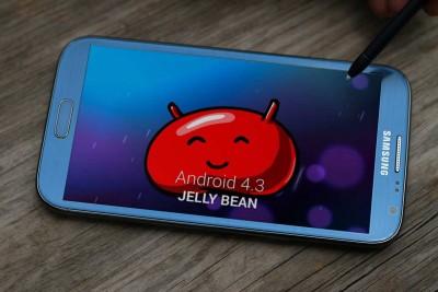 Samsung Rilis Update Android 4.3 JellyBean untuk Galaxy Note II