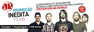"Concurso ""Foo Fighters na França"""