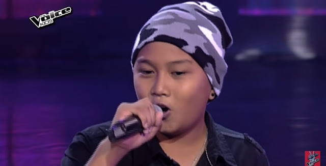 "Kid rocker sings ""Amazing"" on 'The Voice' Blinds"