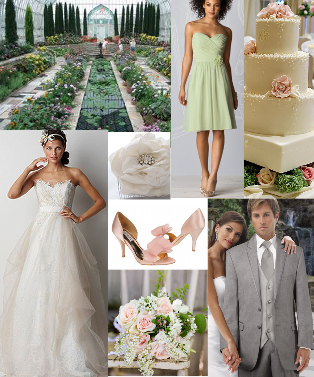 Gown gab all this cold weather has us dreaming of springtime we put together this inspiration board for a springtime wedding in the twin cities ombrellifo Image collections