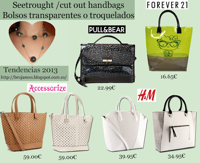 Accessorize brown, tote, marrón, white, blanco, cutout, troquelado, sopping, H&M back and white, negro, forever21, ellow, amarillo, hello kitty, leopard black, blue sachel, azul, leopardo, cartera, pull&bear, pull and bear
