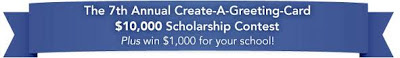Create-A-Greeting-Card $10,000 Scholarship Contest