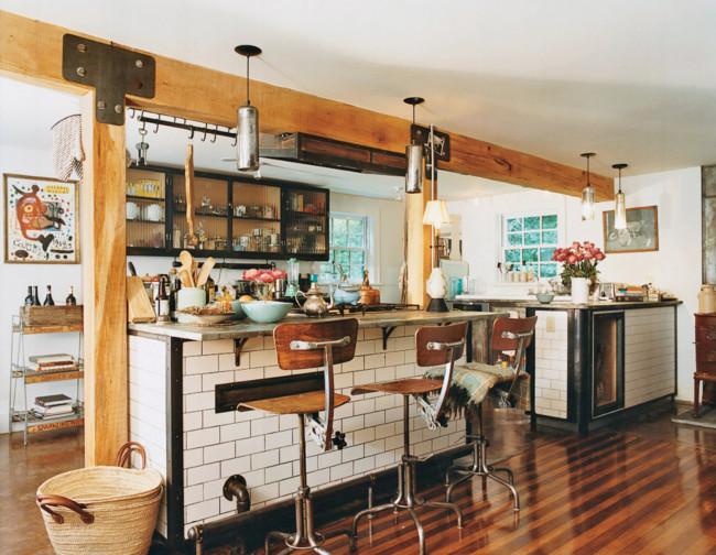 Vintage farmhouse helena christensen - Fotos de cocinas rusticas ...