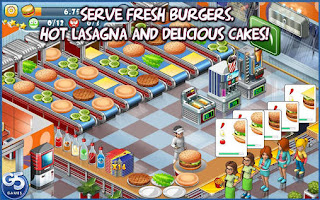 Screenshots of the Stand O'Food City for Android tablet, phone.
