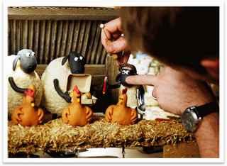 Dibalik Rahasia Pembuatan Film Animasi Shaun The Sheep Beserta Photonya | Dunia Gratis