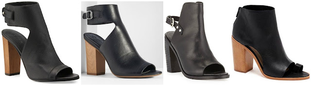 Three of these pairs of booties are from designers for $247 to $395 and one is from Simply Vera Vera Wang on sale for $37. Can you guess which one is the more affordable pair? Click the links below to see if you are correct!