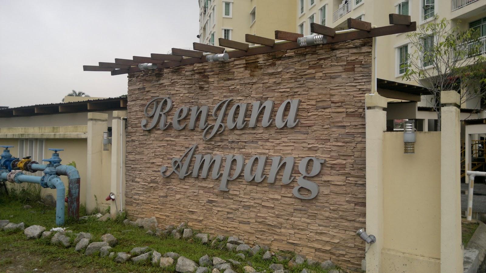 Rk Property  Renjana Ampang Condominium  Ampang