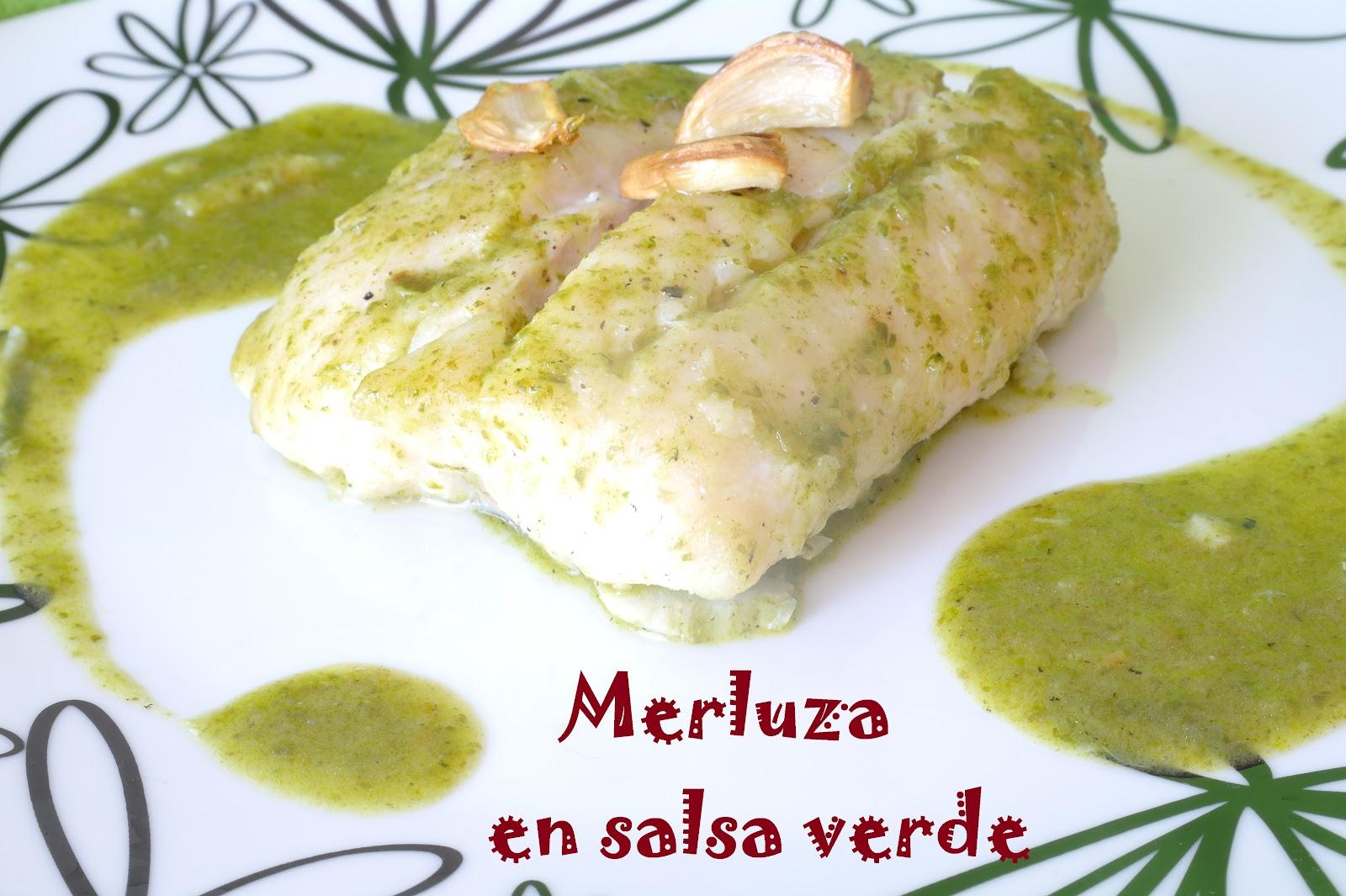 El que no mata engreixa merluza en salsa verde for Lomos de merluza en salsa verde