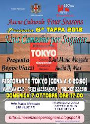 5^TAPPA - domenica 7 ottobre Via pavia 63 ALESSANDRIA