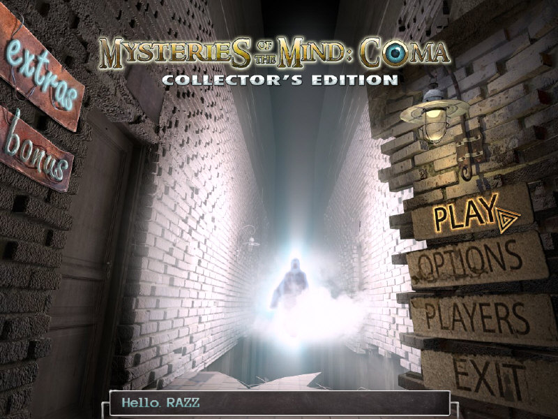 Mysteries of the Mind: Coma Collector's Edition free download