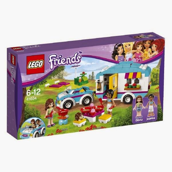 JUGUETES - LEGO Friends - 41034 La caravana de verano  Toys | Producto Oficial | Edad: 6-12 años