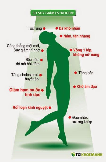 Hội chứng tiền mãn kinh ở phụ nữ trung tuổi 3