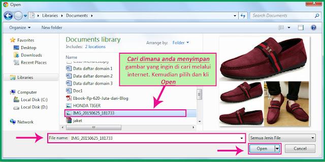 Tips Cara Mencari Dengan Gambar Di Internet Google