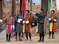 Archers - Changlimthang archery ground - Thimphu