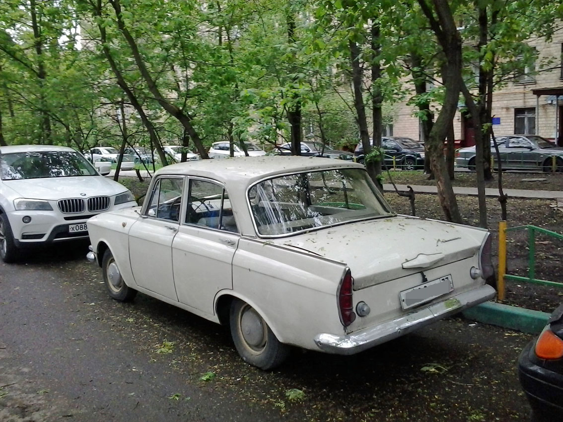 Spotted Cars In Moscow Moskvitch