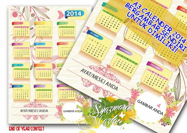 http://syazwani30.blogspot.com/2013/11/percuma-calendar-2014-bergambar-sendiri.html