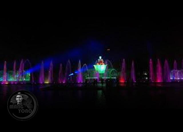 Taman Air Mancur Sri Baduga Purwakarta terbesar di Asia Tenggara
