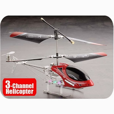 Remote Control Helicopter Metal 3-Ch Mini Gyro S7