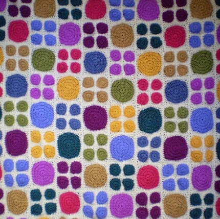 Big Dots, Little Dots - Free Pattern
