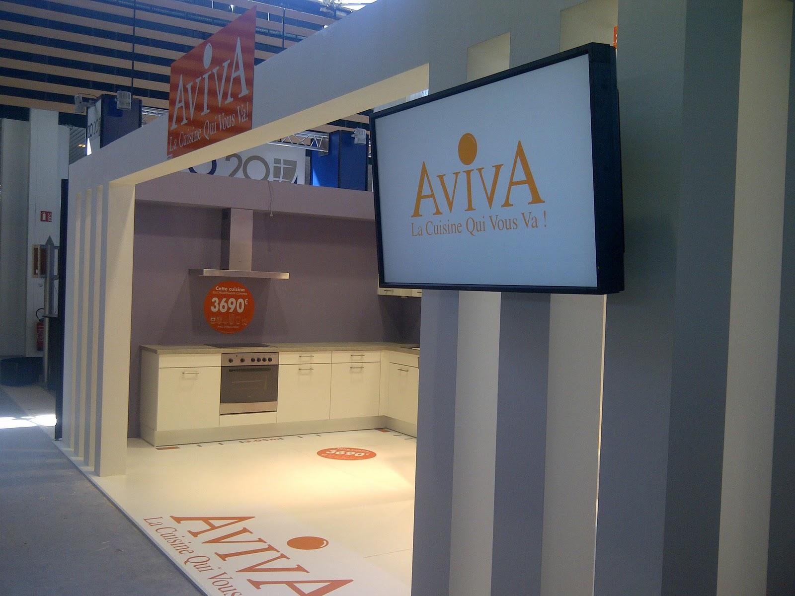 Crown heights crown accompagne aviva cuisines lors du for Aviva cuisine lyon