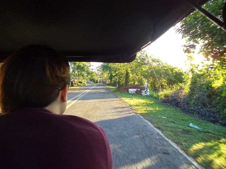 Artli and Stuff - Mt. Daraitan - Tricycle ride to Brgy. Daraitan