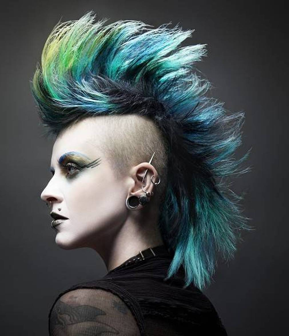 mens haircuts: punk haircuts