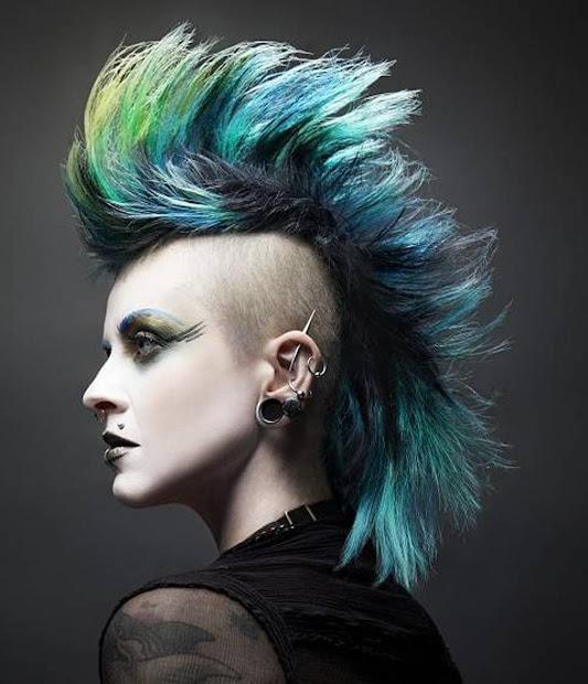 mens haircuts punk