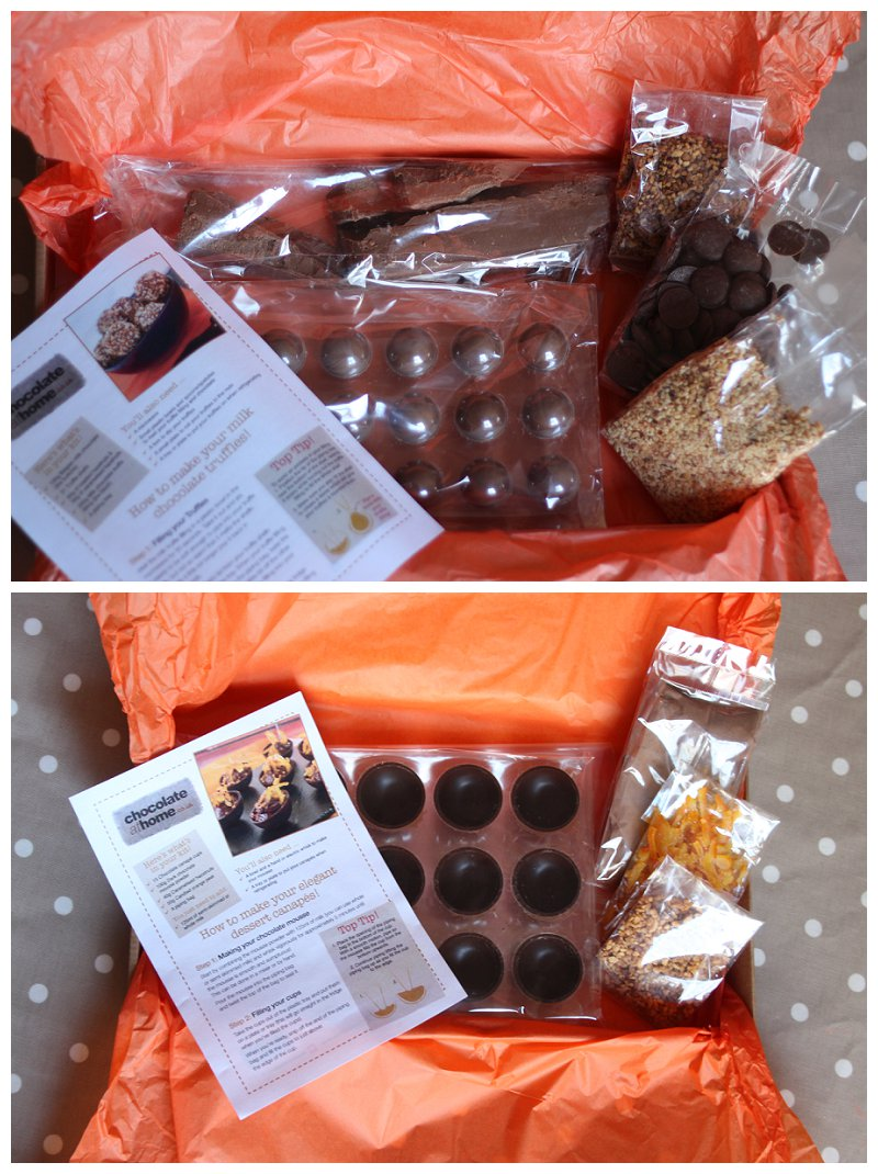 Chocolate at home canap and truffles kits oh gosh for Canape cup fillings