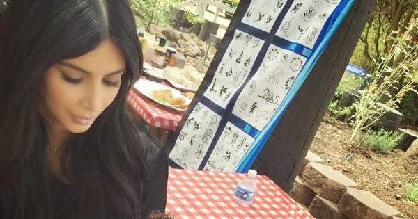 Kim Kardashian Painted Room
