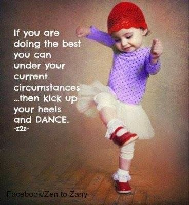 Kick up your heels...