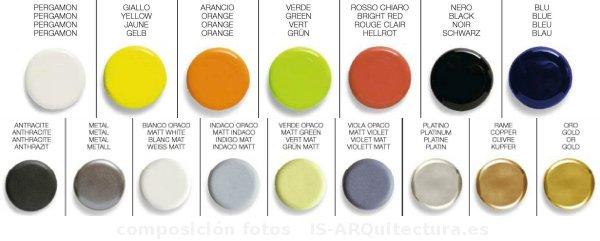 Marzua sanitarios dorados de scarabeo - Sanitarios de colores ...