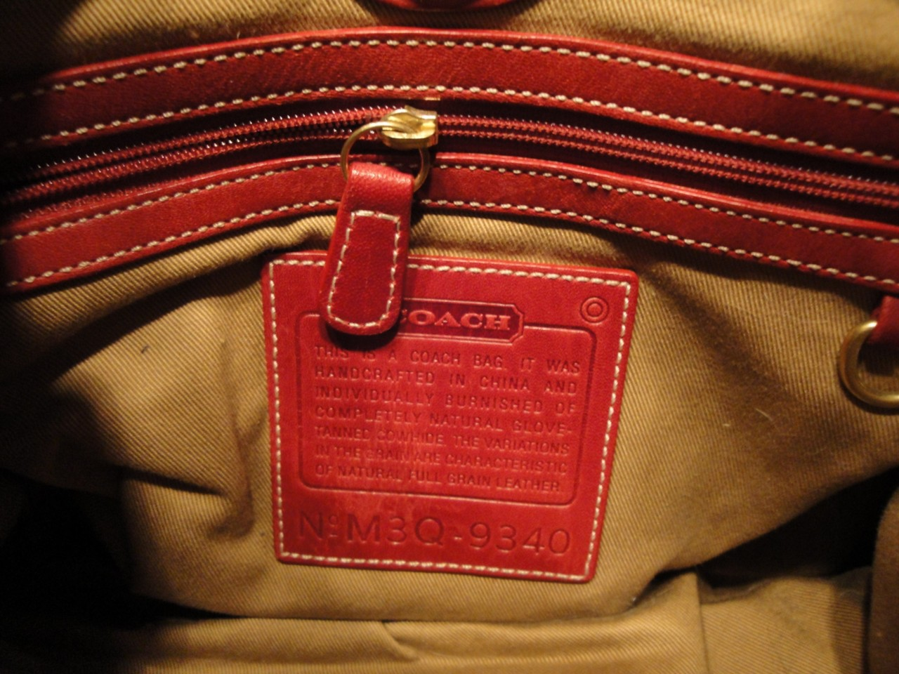 Here Are Some Other Examples Of Authentic Coach Creed And Serial Number