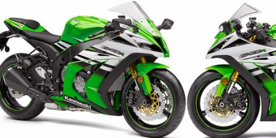 Kawasaki supersport 2015 Relieve only two Moge latest