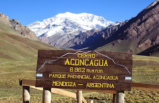 Mount Aconcagua highest mountain in America