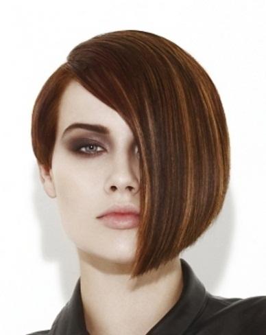 Edgy Short Bob Hair Style 2014