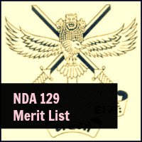 129 NDA Merit list