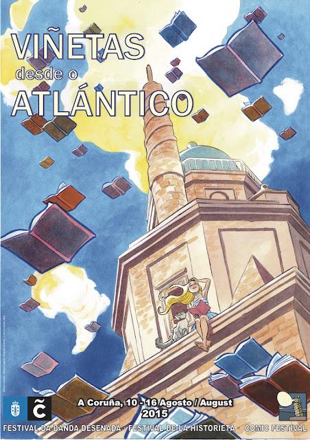 Cartel Viñetas Atlantico 2015 Montse Martin