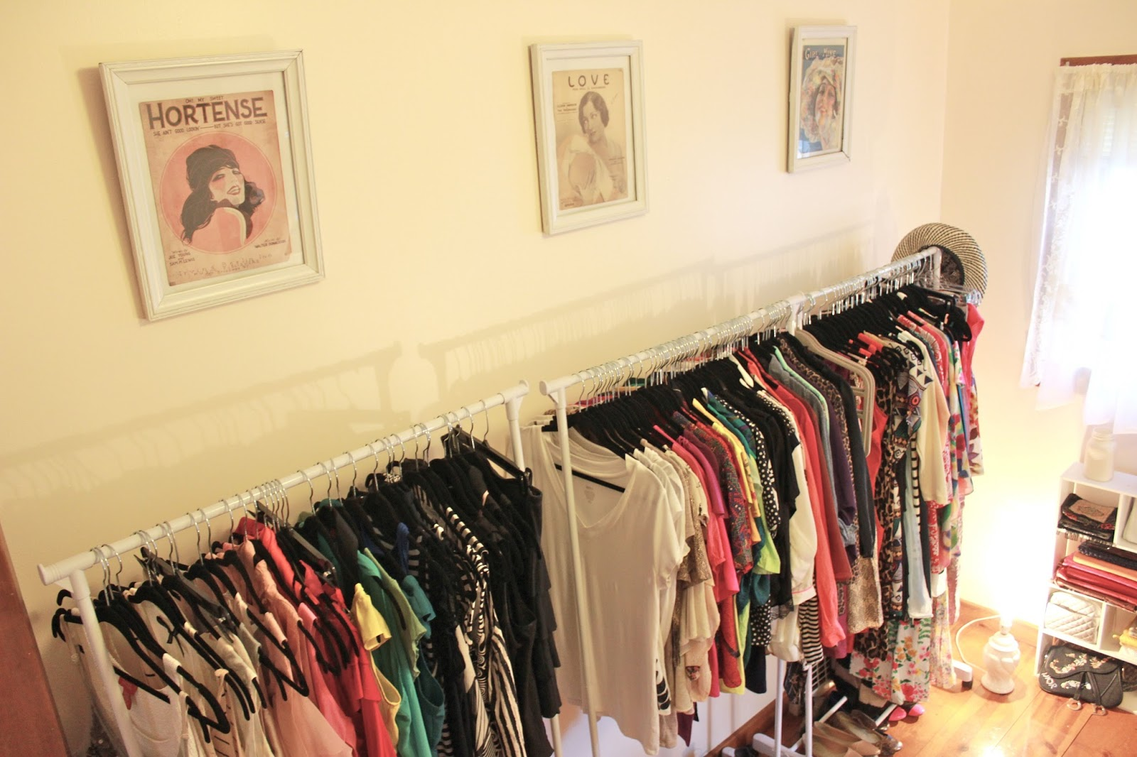 Turning A Spare Room Into A Walk-In Closet – Dina\'s Days