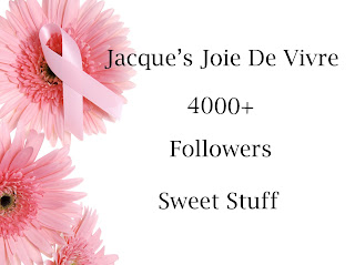 Jacque's 4000+ Followers Sweet Stuff!!!